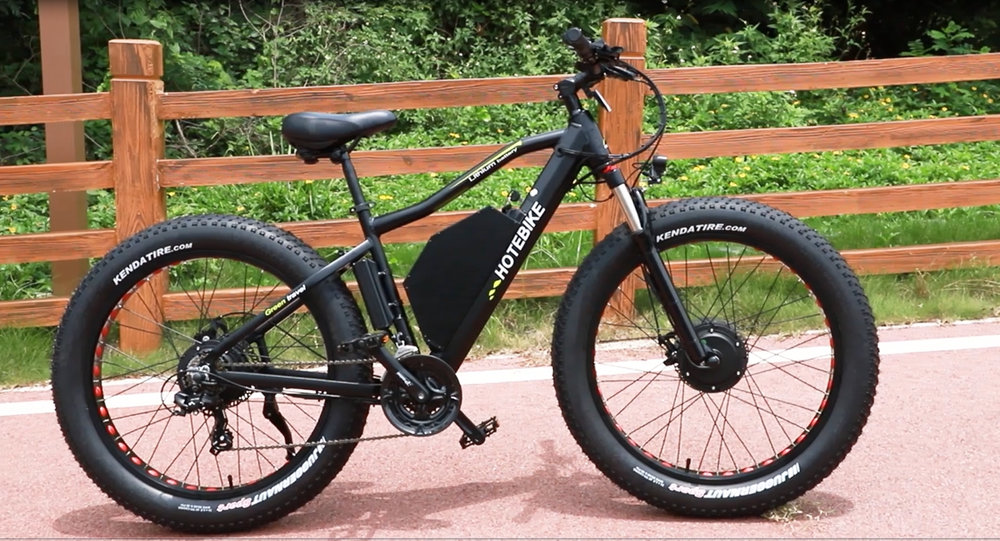 Electric assisted bicycles